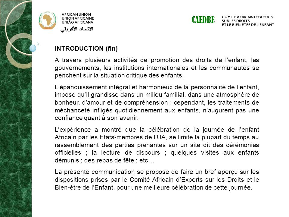 CAEDBE INTRODUCTION (fin)