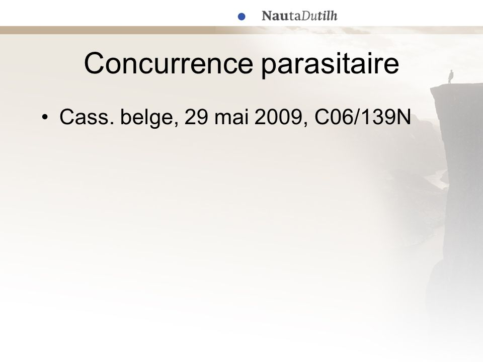 Concurrence parasitaire