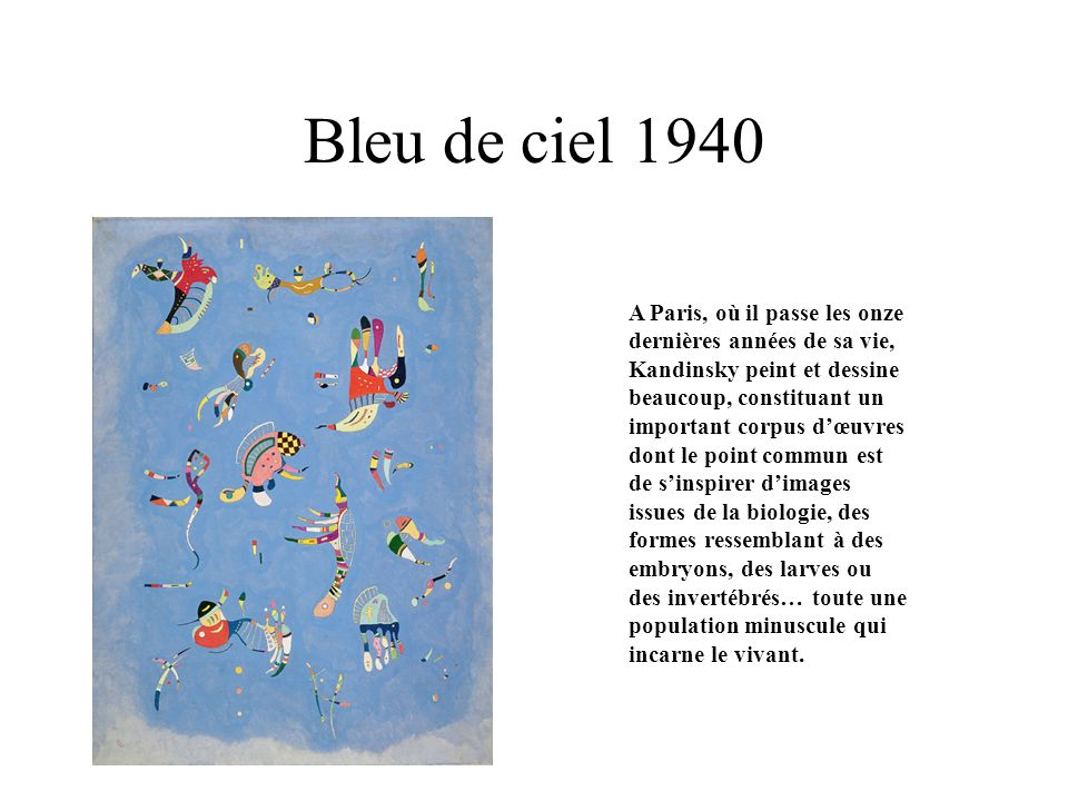 L\'art abstrait Vassili KANDINSKY Robert DELAUNAY - ppt video online ...