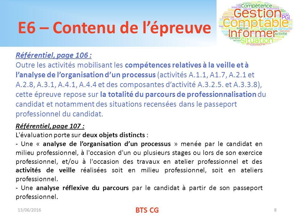 épreuve E6 Parcours De Professionnalisation Ppt Video