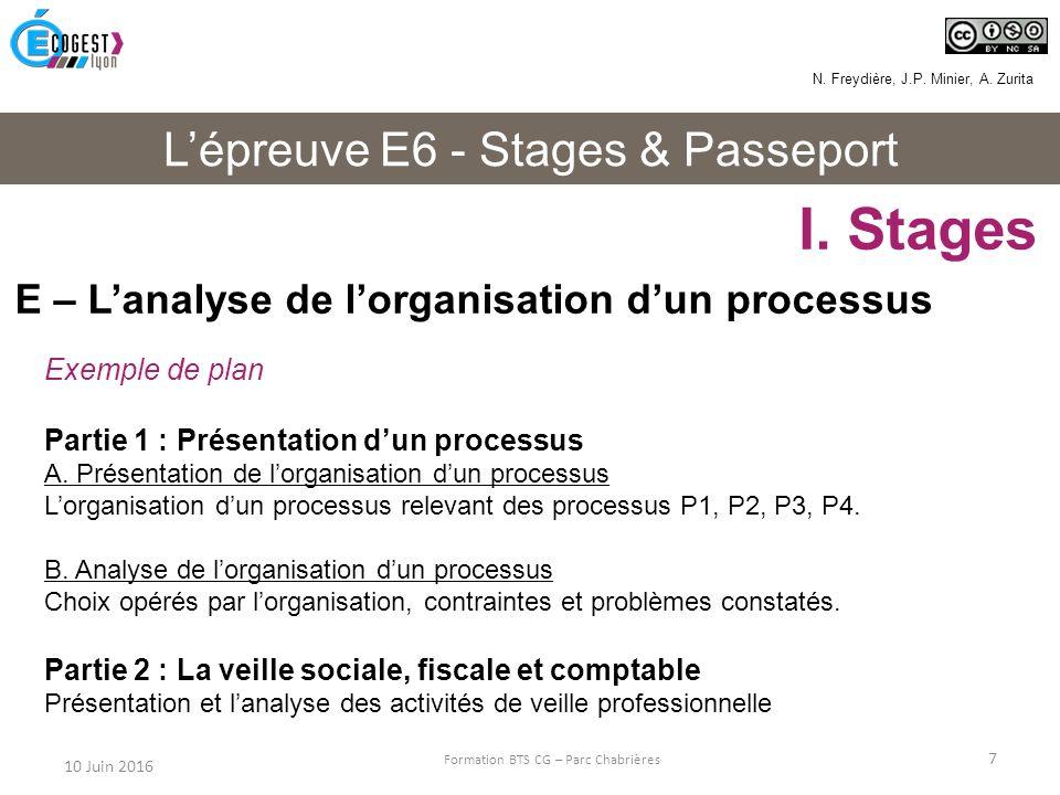 exemple dossier e6 bts cg