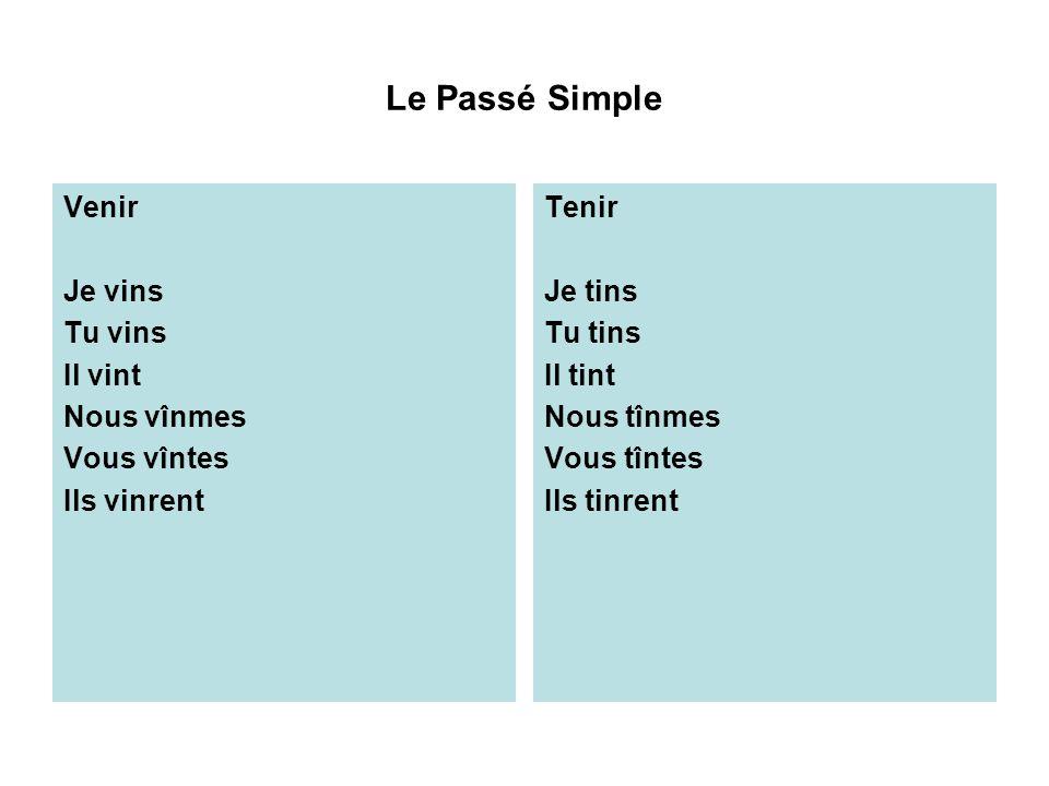 Le Passif Et Le Passe Simple Ppt Video Online Telecharger
