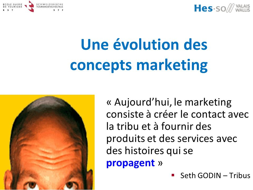 Une évolution des concepts marketing
