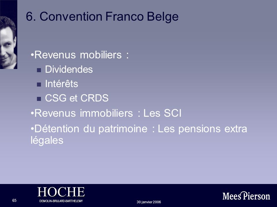 6. Convention Franco Belge