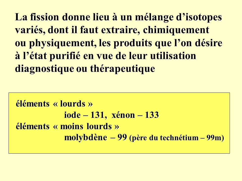 applications des sciences nucleaires les isotopes radioactifs en medecine