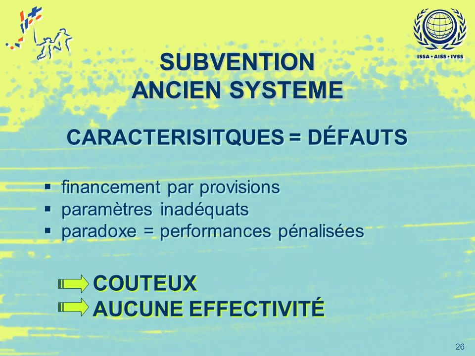 SUBVENTION ANCIEN SYSTEME