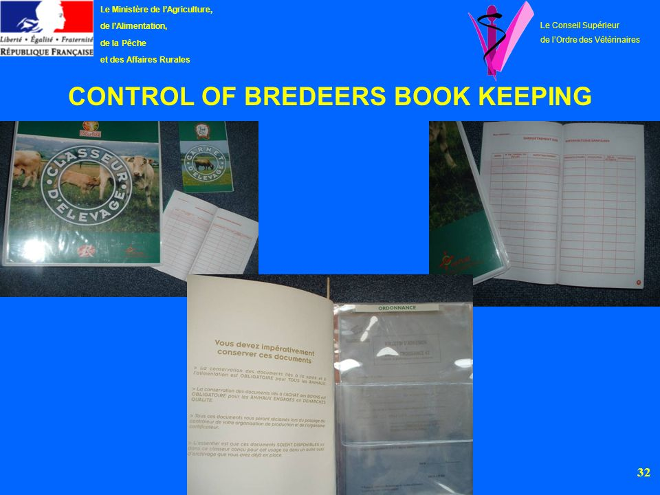 CONTROL OF BREDEERS BOOK KEEPING