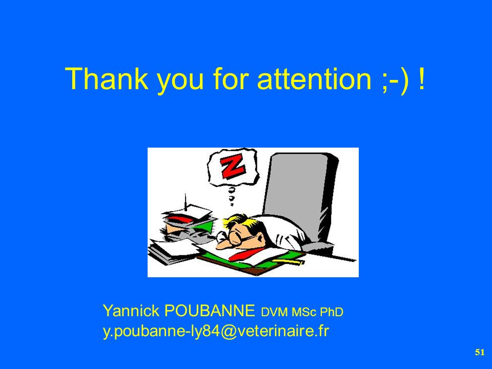 Thank you for attention ;-) !