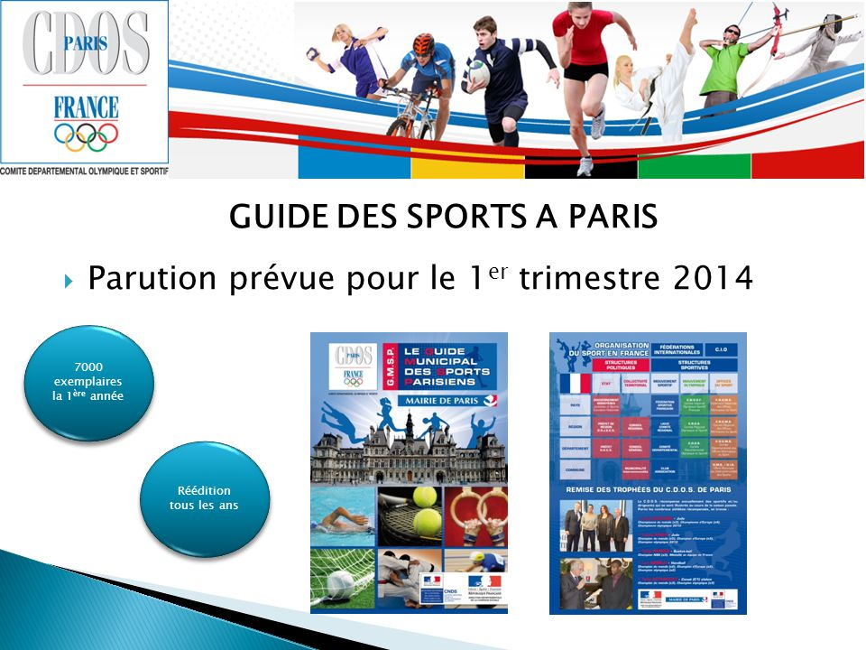 GUIDE DES SPORTS A PARIS
