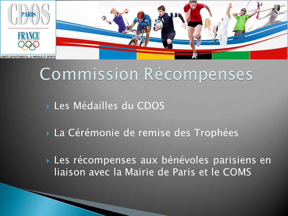 Commission Récompenses