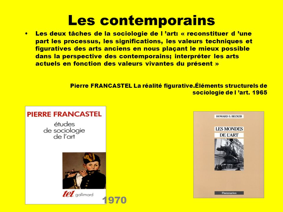 Les contemporains