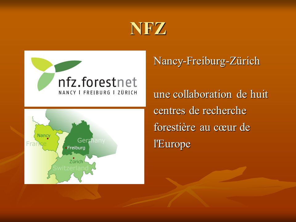 NFZ Nancy-Freiburg-Zürich une collaboration de huit