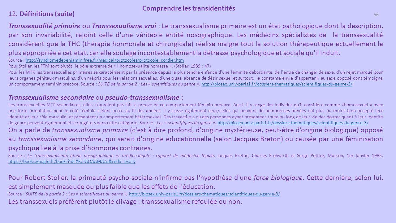 post op transsexuel MTF datant