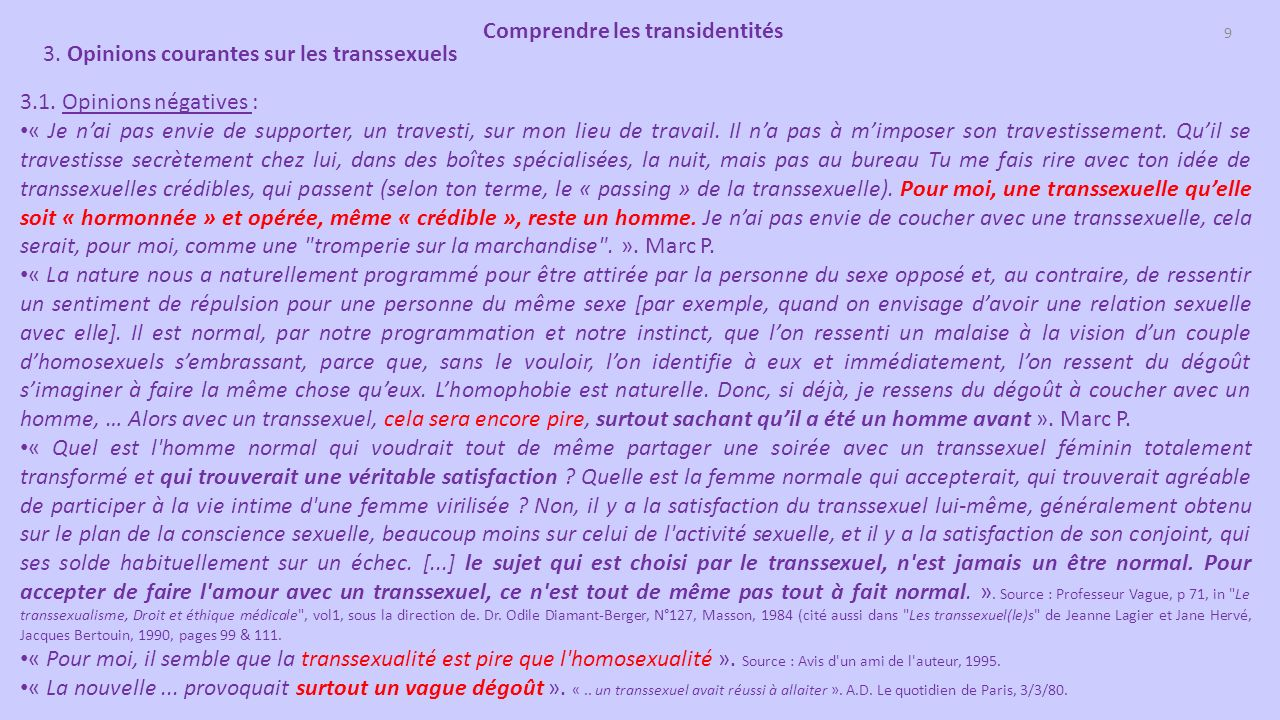 comprendre les transidentit s transsexuels transgenres ppt t l charger. Black Bedroom Furniture Sets. Home Design Ideas