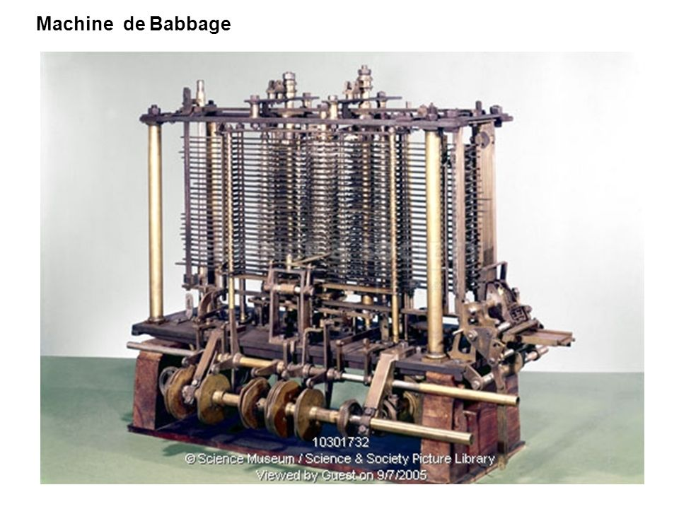 Machine de Babbage