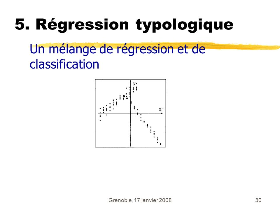 5. Régression typologique