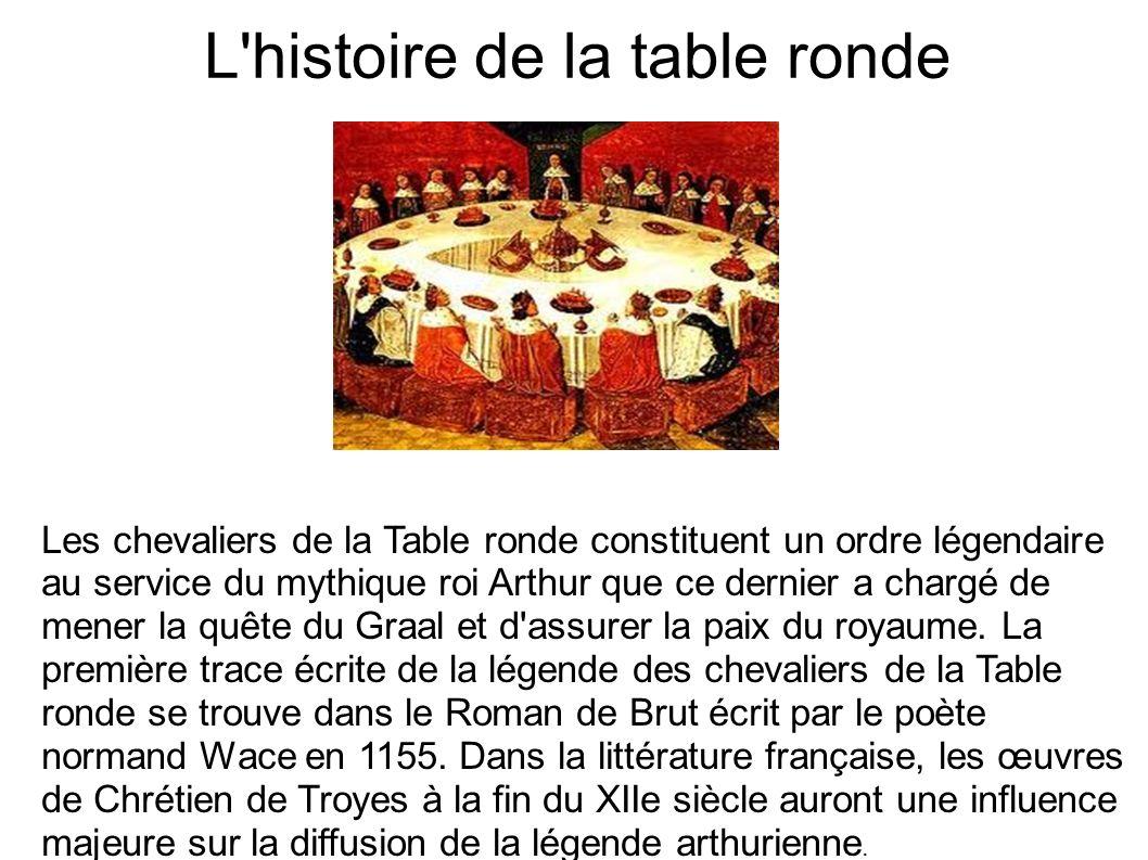 Le roi arthur ppt video online t l charger - La table ronde du roi arthur ...