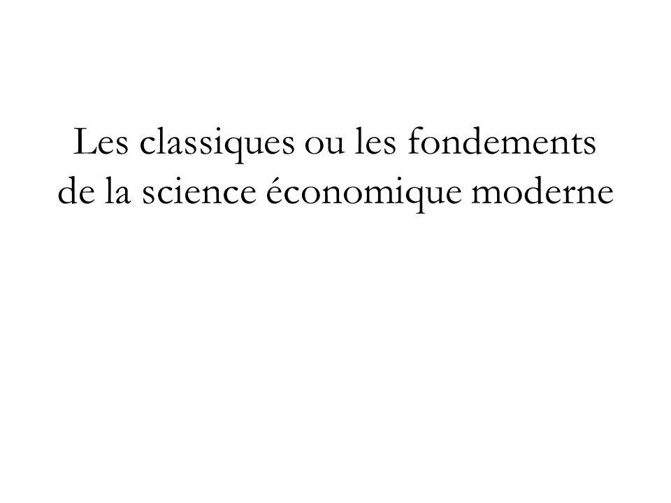 les fondements de la connaissance économique