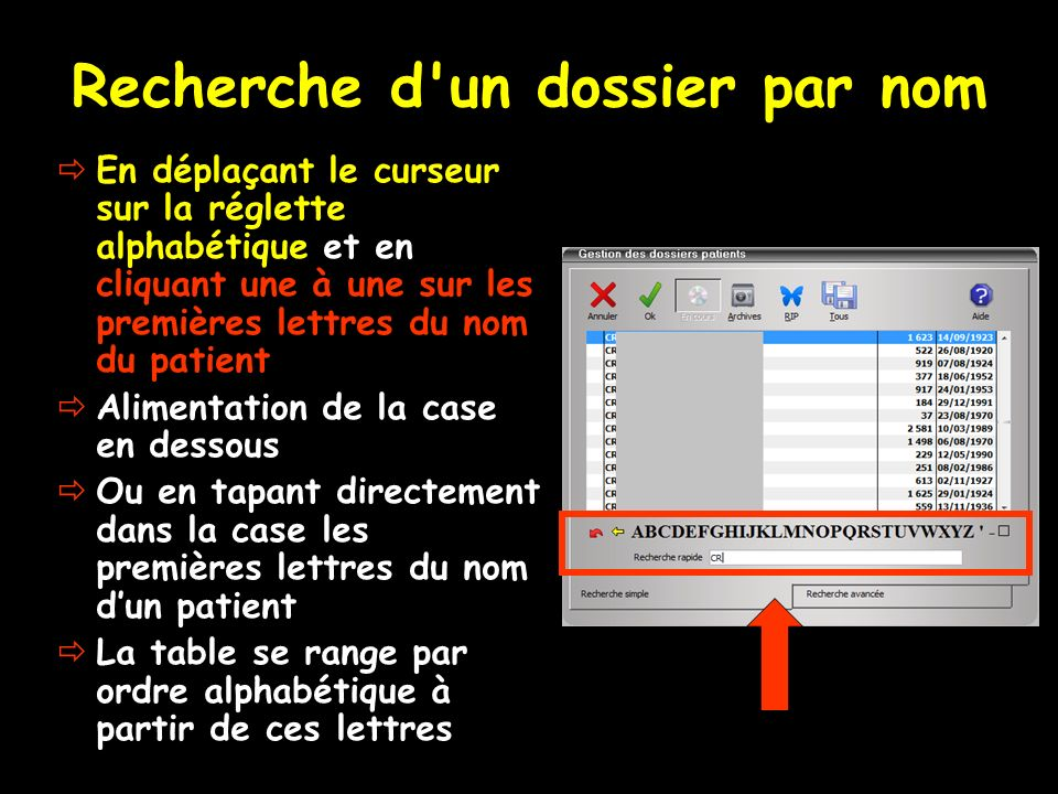 Recherche Dun Dossier Patient Ppt Video Online Télécharger