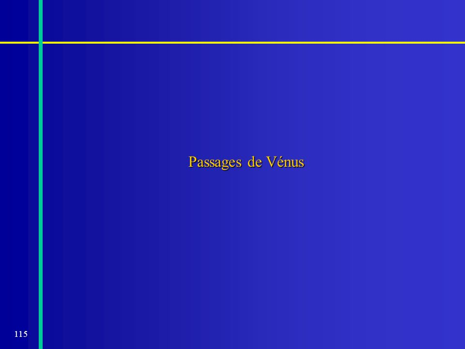 Passages de Vénus