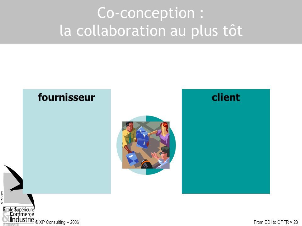 Co-conception : la collaboration au plus tôt