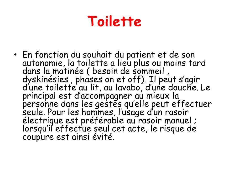 Aspects pratiques de la prise en charge de la maladie de - Analyse de pratique toilette au lit ...