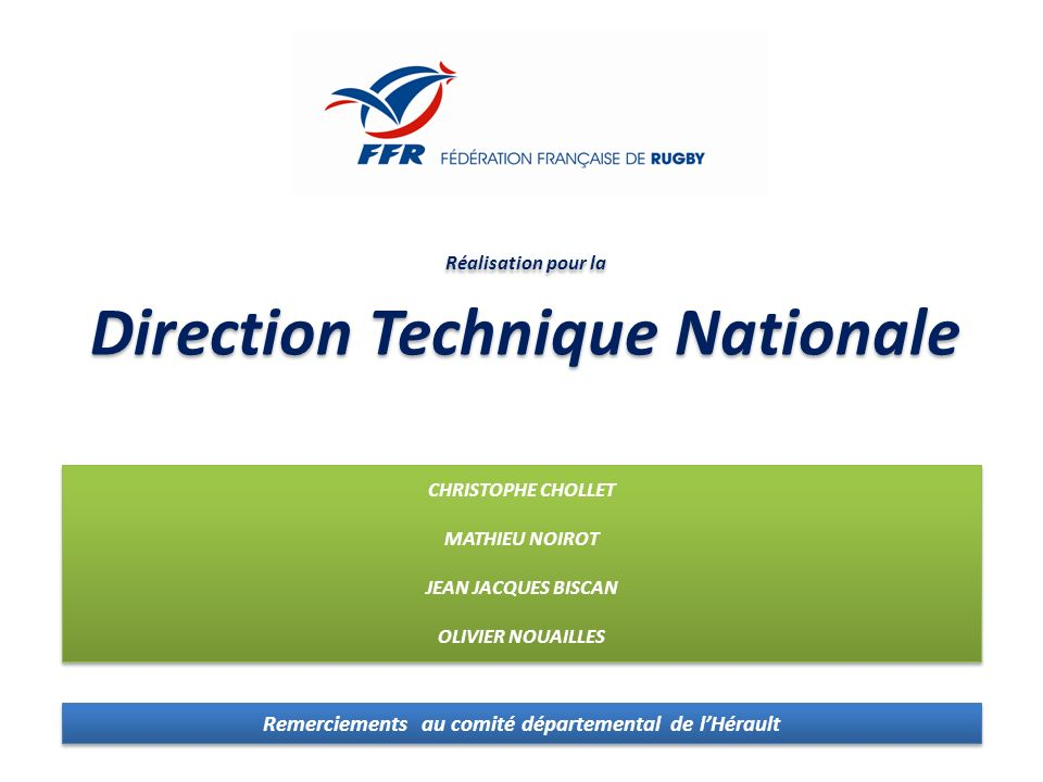 Direction Technique Nationale