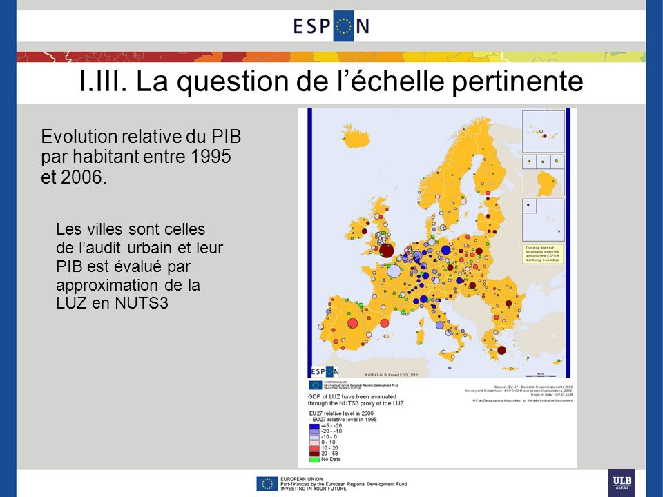 I.III. La question de l'échelle pertinente