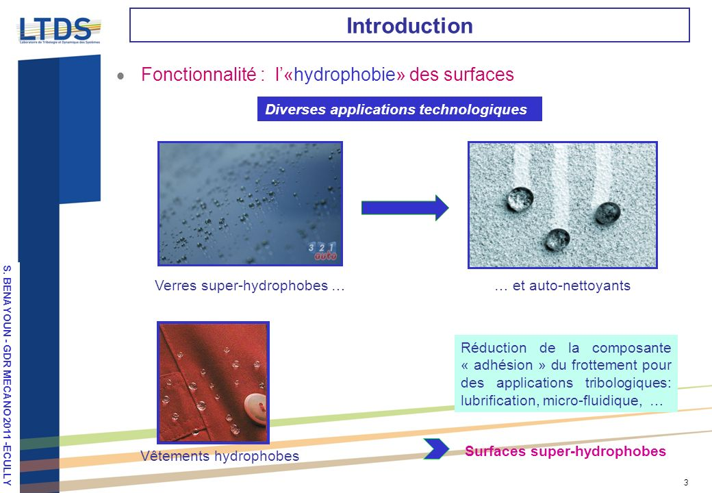 Surfaces super-hydrophobes