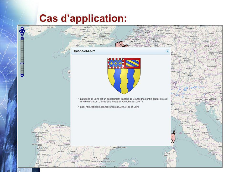 Cas d'application: