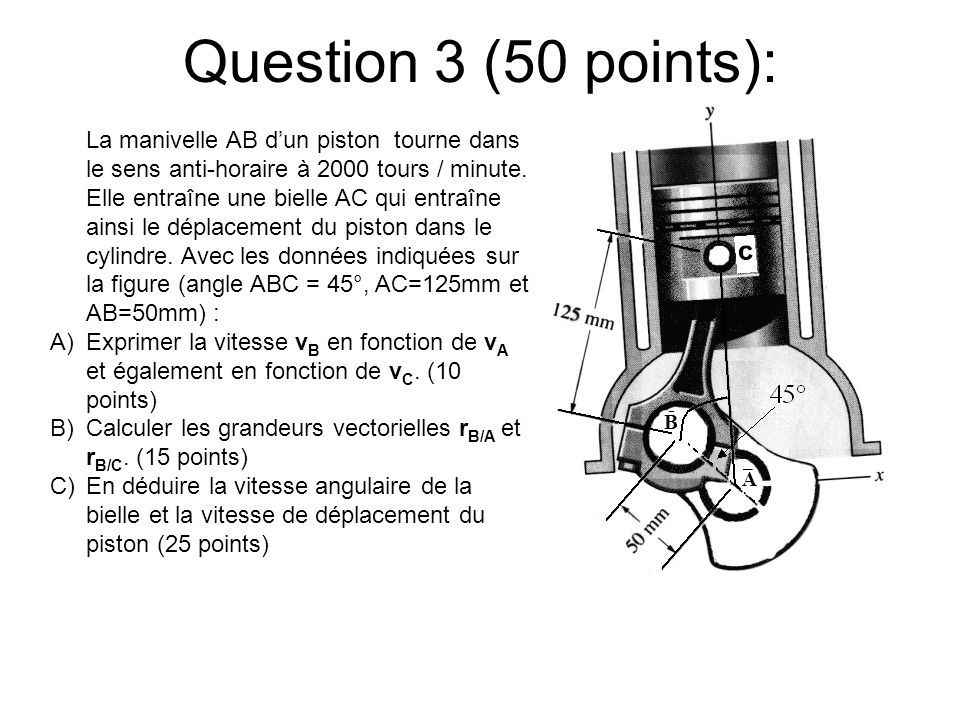 Question 3 (50 points): B. A.
