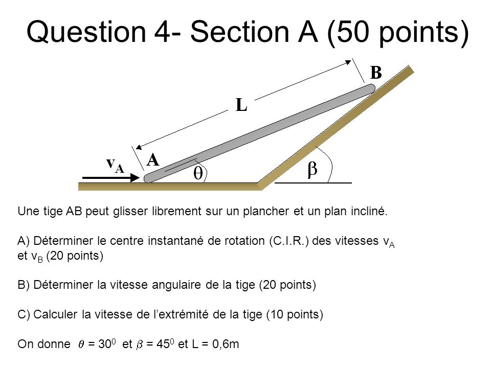 Question 4- Section A (50 points)