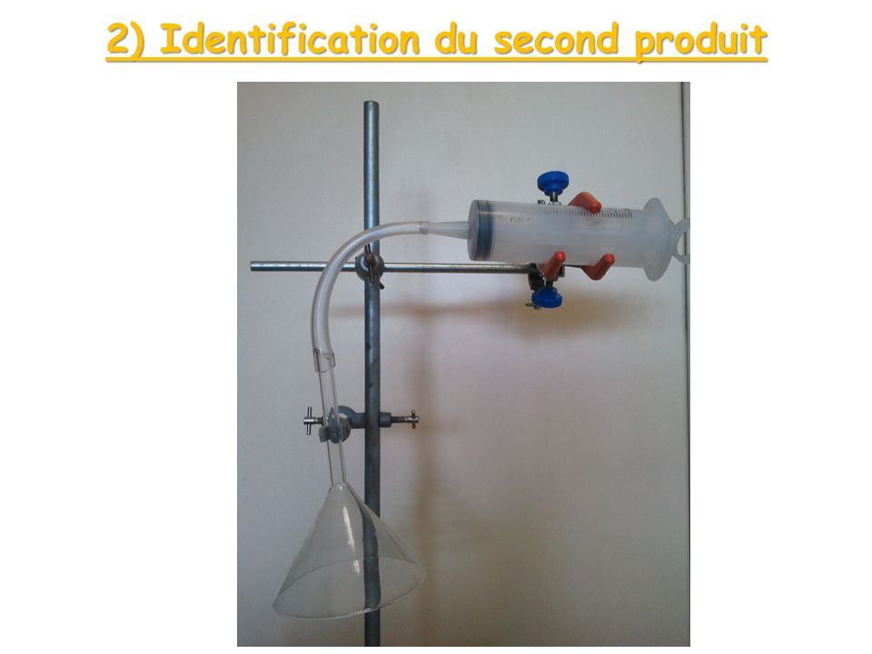 2) Identification du second produit