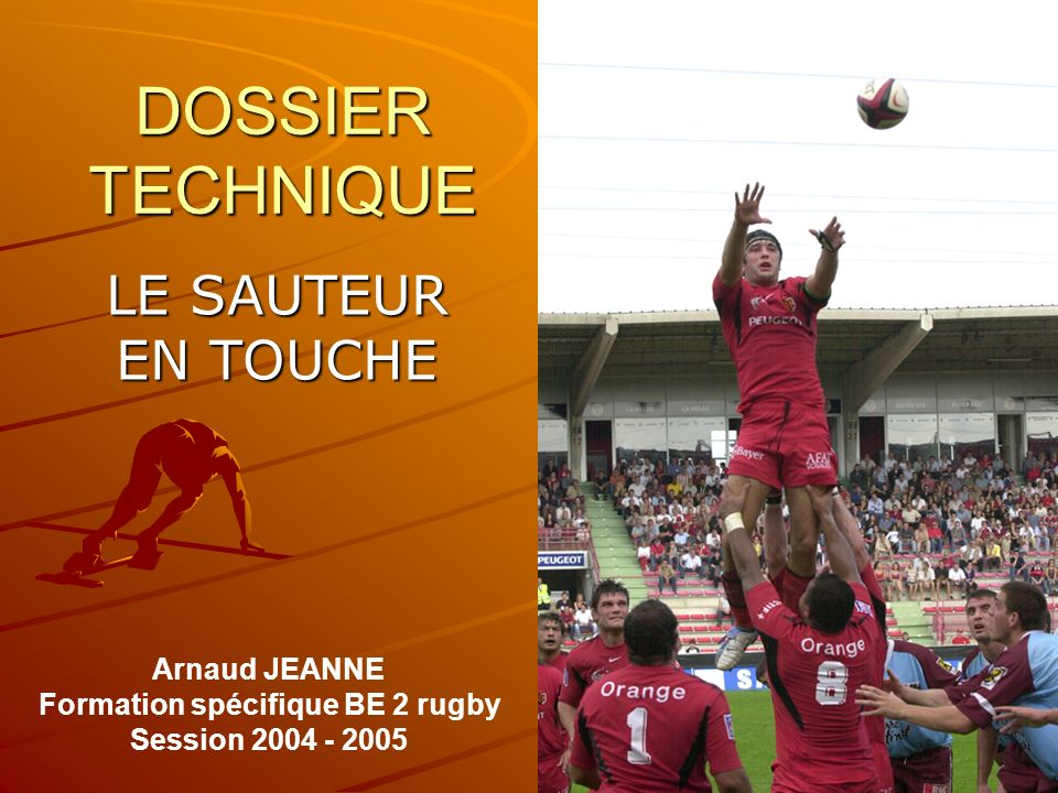 Formation spécifique BE 2 rugby