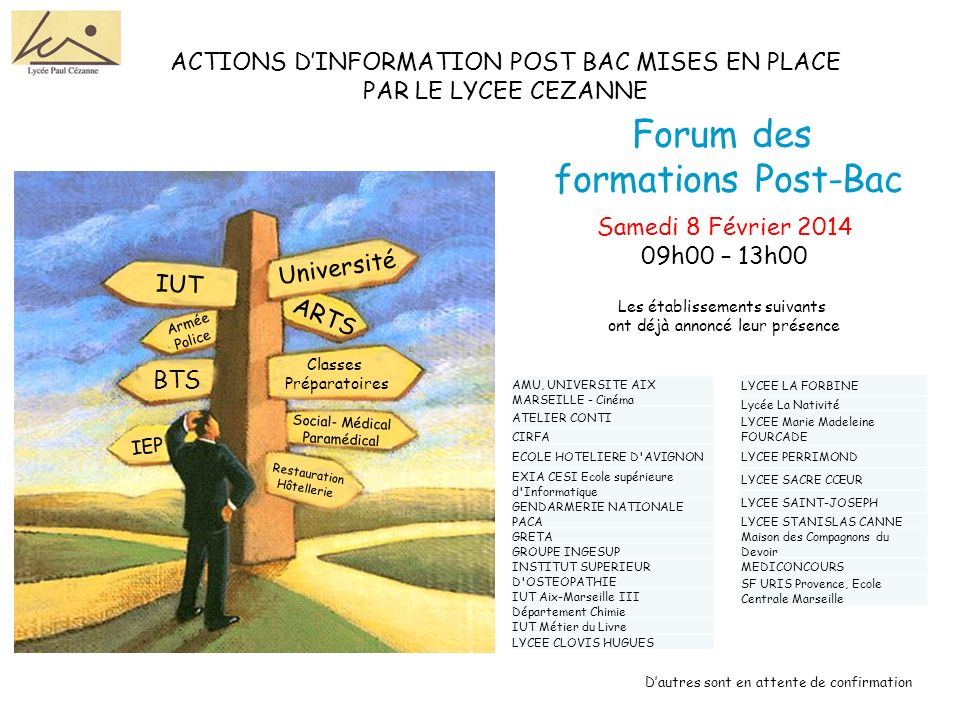 Forum des formations Post-Bac
