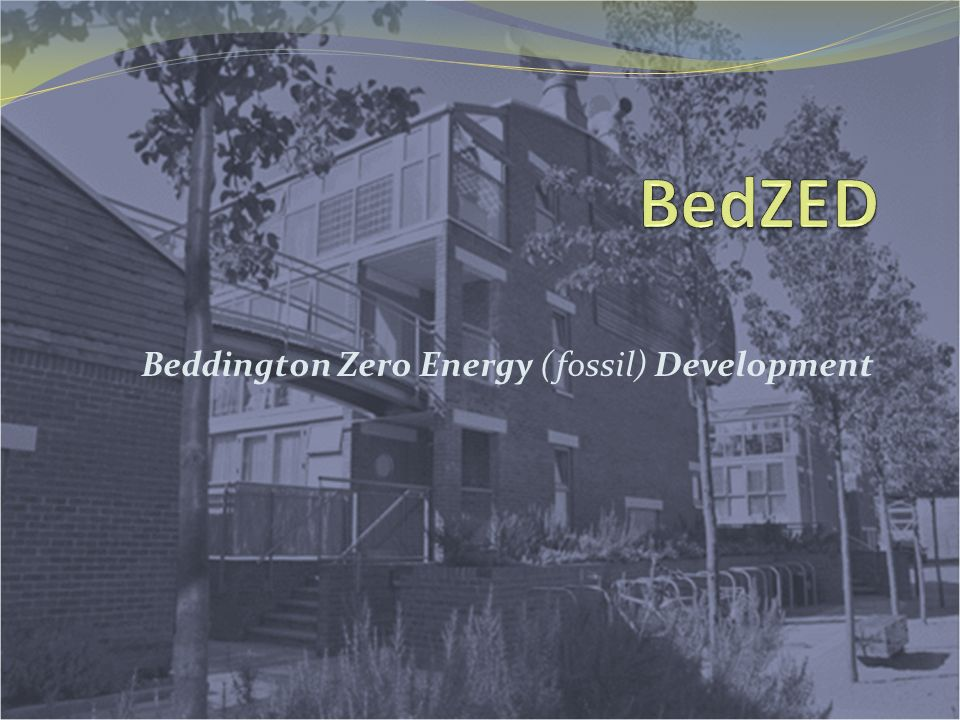 Beddington Zero Energy (fossil) Development