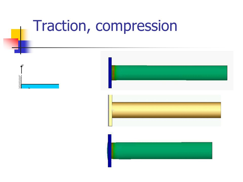Traction, compression