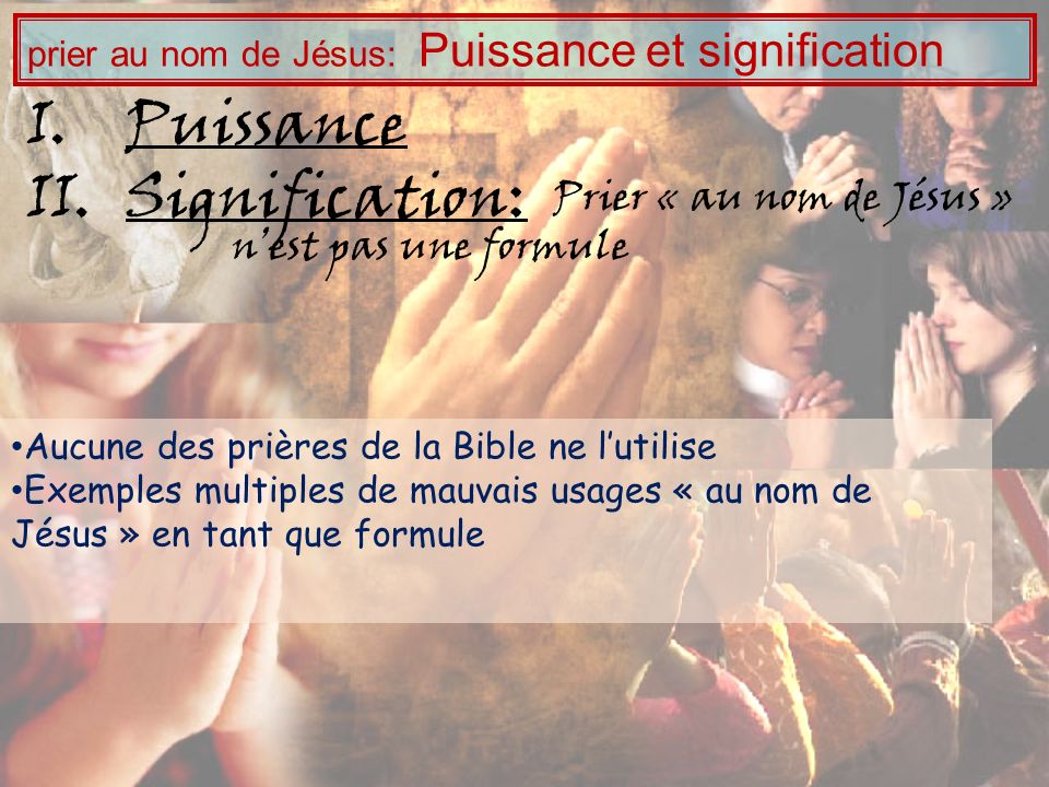 Puissance Signification: