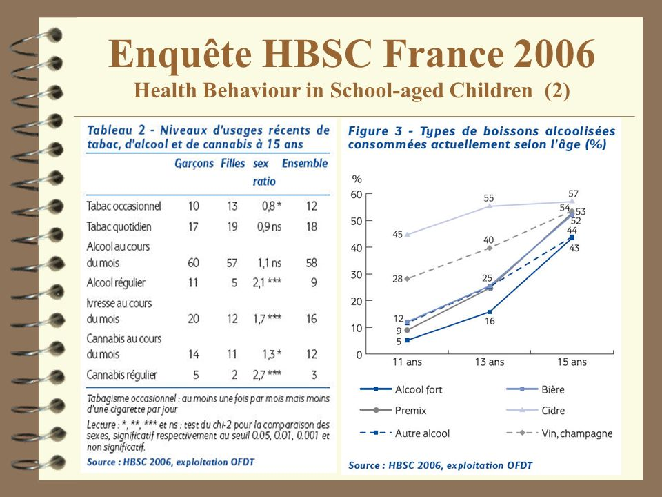 Enquête HBSC France 2006 Health Behaviour in School-aged Children (2)
