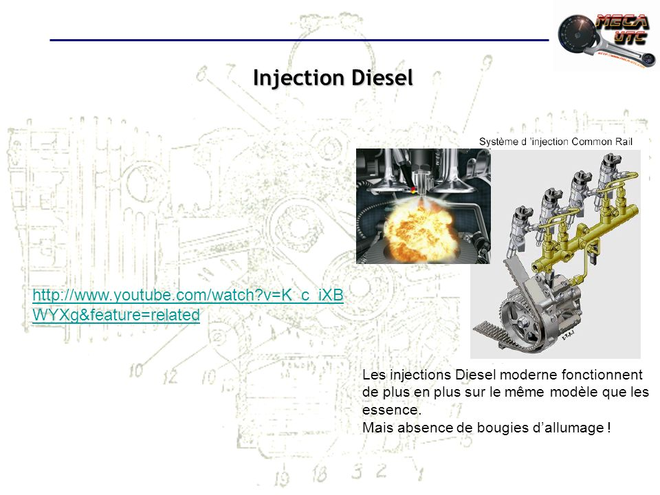 Injection Diesel http://www.youtube.com/watch v=K_c_iXBWYXg&feature=related.