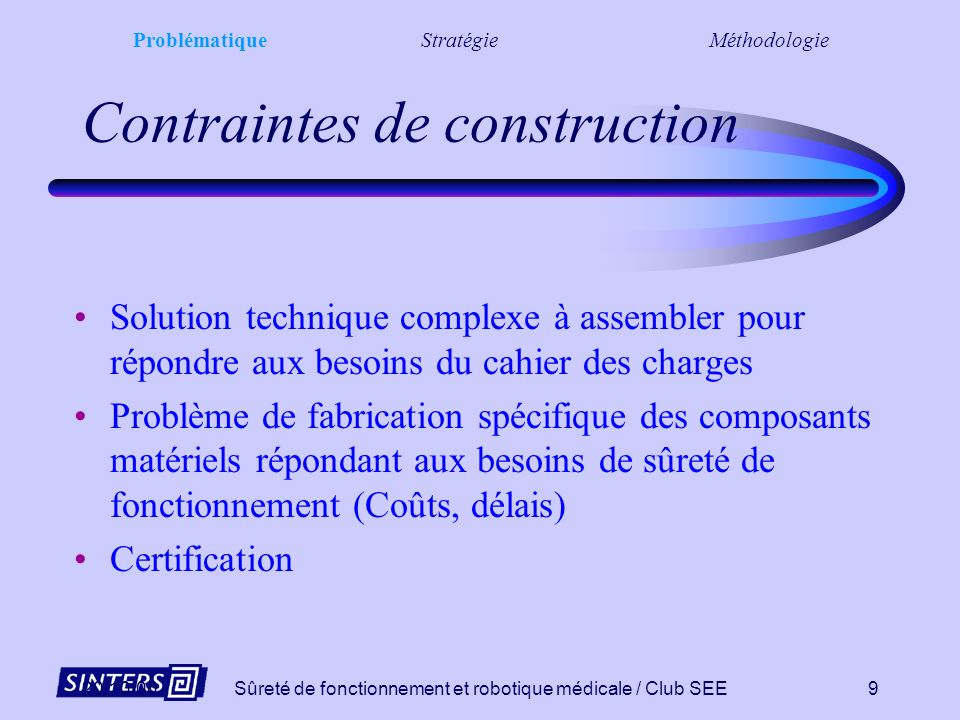 Contraintes de construction