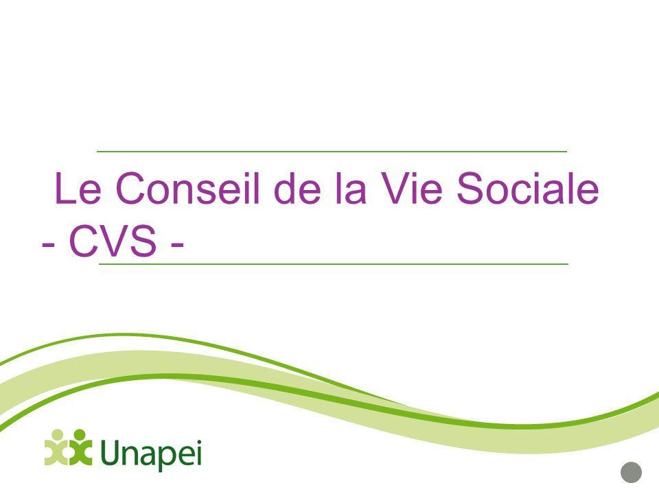 le conseil de la vie sociale - cvs -