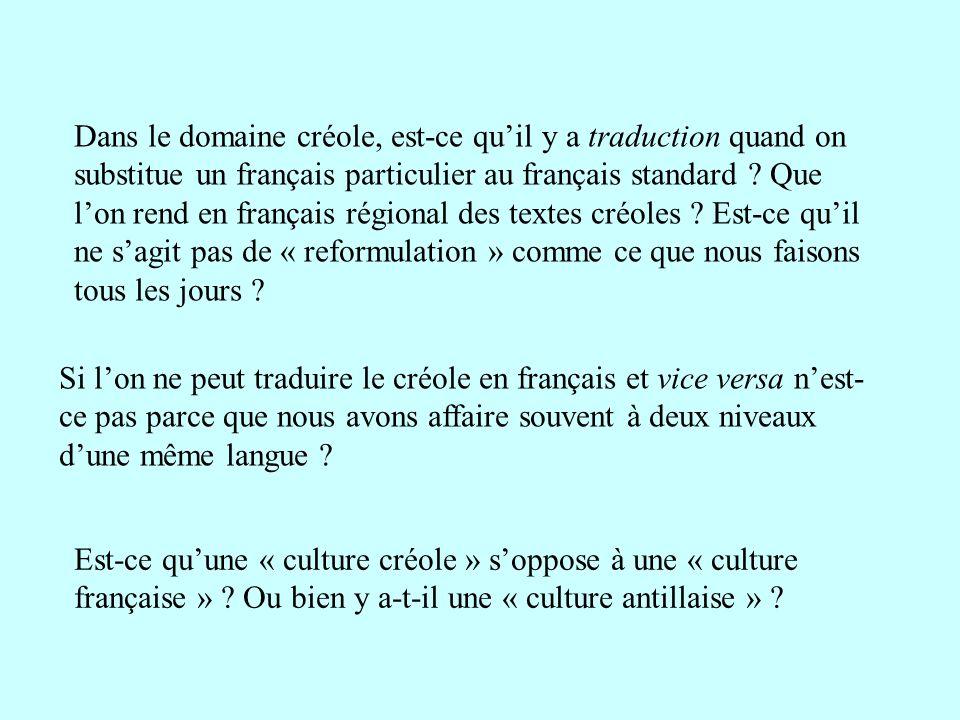 traduction creole en francais