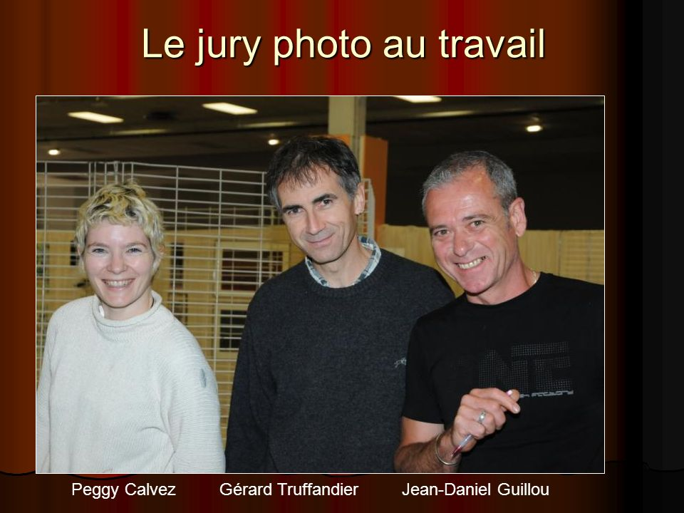 Le jury photo au travail