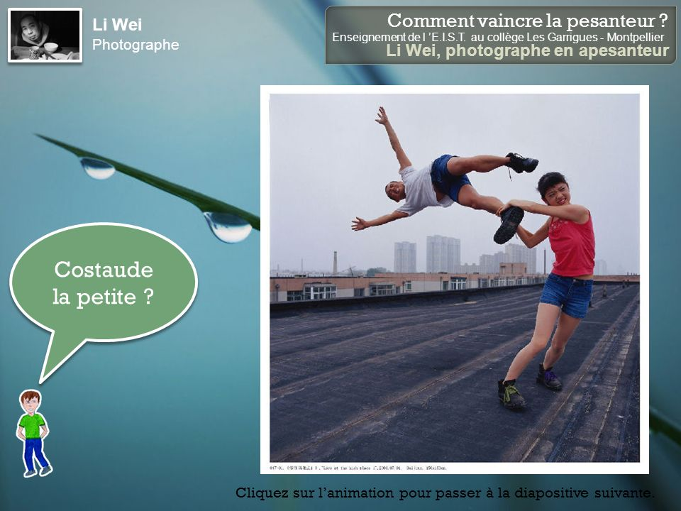 Li Wei Photographe Costaude la petite