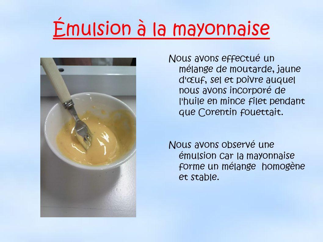 Les mulsions ppt video online t l charger - Faire une emulsion en cuisine ...