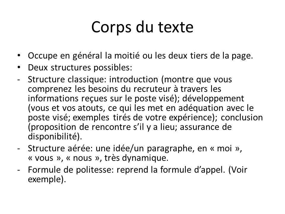 Exemple texte de présentation site de rencontre