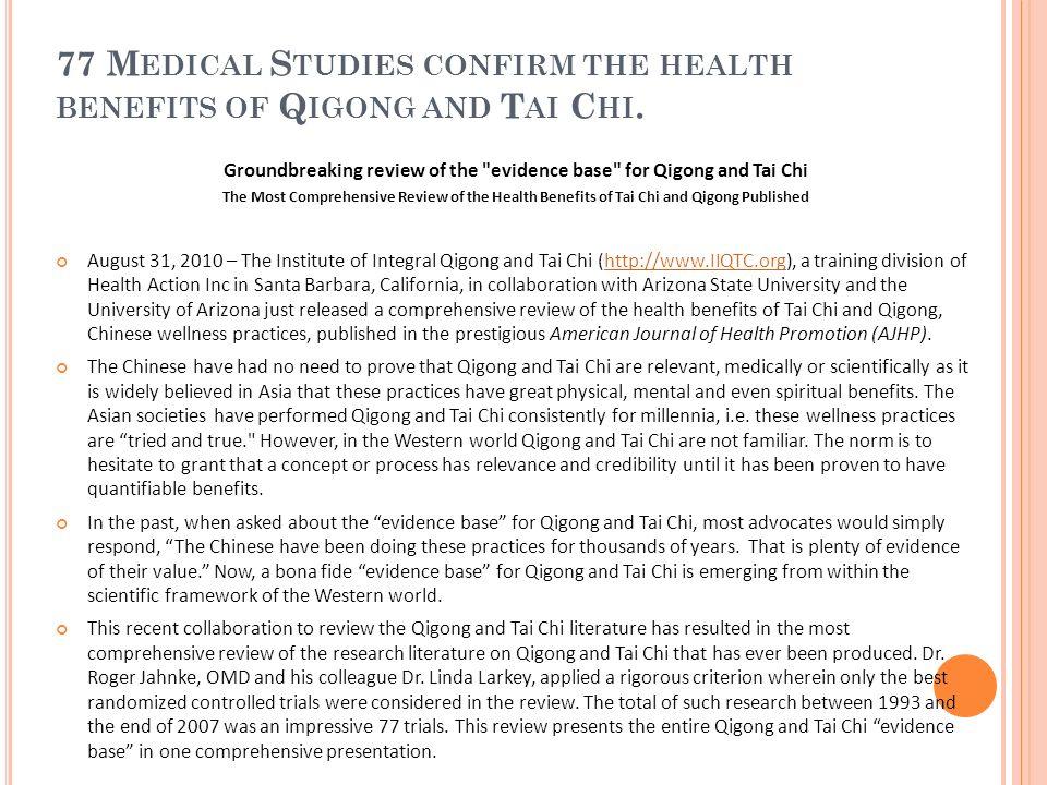 Recherches internationales sur le Qi Gong - ppt télécharger