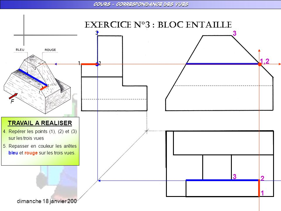 EXERCICE N°3 : BLOC ENTAILLE