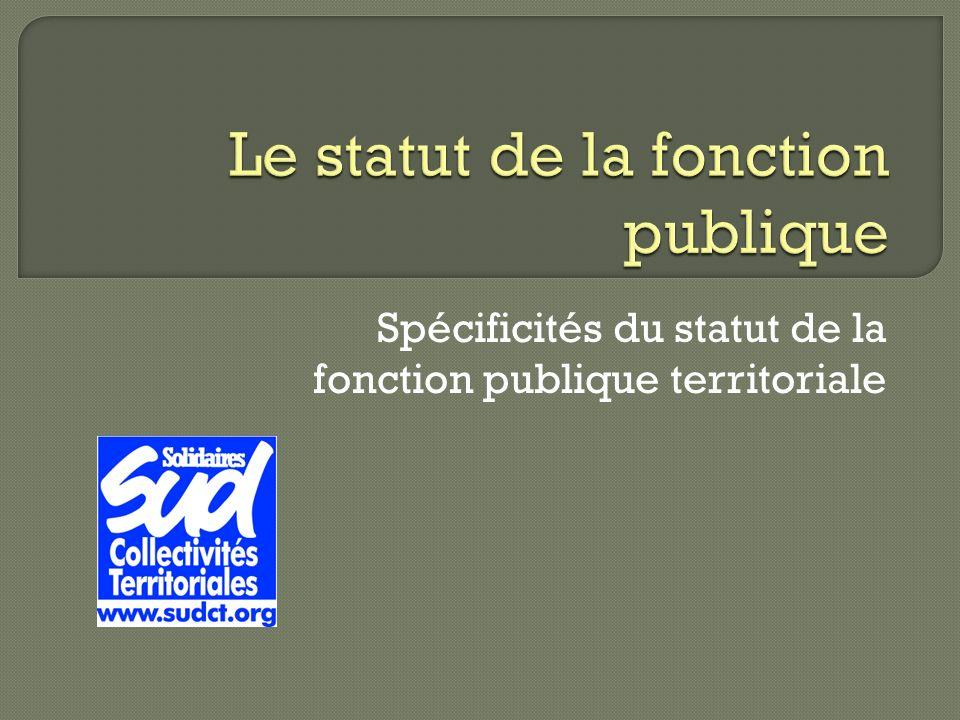 6beaf4cf996 Le statut de la fonction publique. 2 Administration territoriale